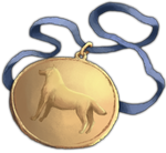Forged Gold Medal by TokoTime