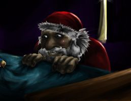 Creepy Santa by Loonalily