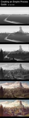 empire city process by TylerEdlinArt