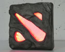 Dota 2 night lamp by TheGoblinFactory