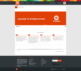 Myskins.org MyBB theme Studio V3 Design by enviraphani