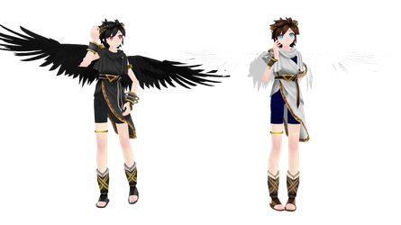 MMD TDA Pit And Dark By KittyNekkyo