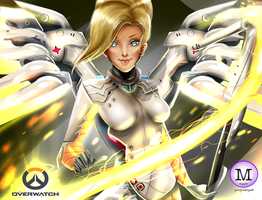 Mercy Overwatch by magato98
