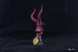 [Garage kit painting #12] Hellboy busts - 003 by DasArt
