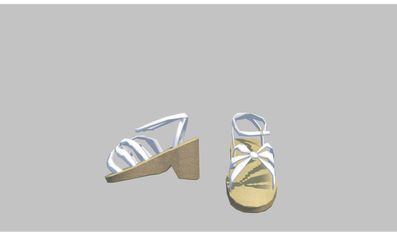 MMD Summer Sandals by amiamy111