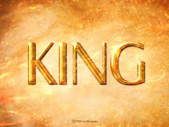 Psd King - Text Effect by mostpato