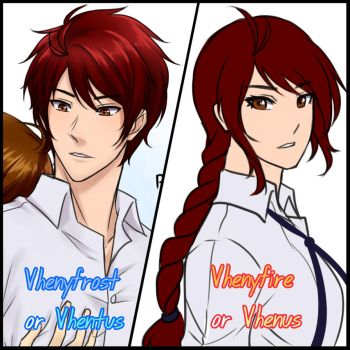 Persona Counterparts by Vhenyfire
