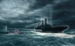 Ghost-ship Titanic by lusitania25