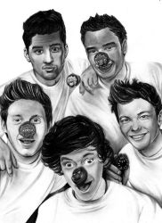 One Direction - 1D by Fabielove