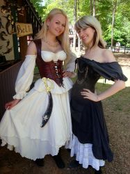 Hanging out at the GA Ren Fest by AlisaKiss