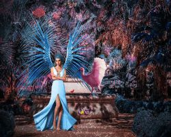 Vinca Goddess wm by Sophia-Christina