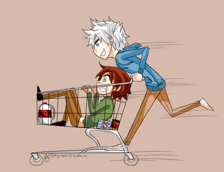 HiJack Day 10 - Grocery Shopping [[color]] by Nagareboshi22