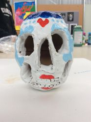 Skull (Day of the Dead theme) by MaulOpress