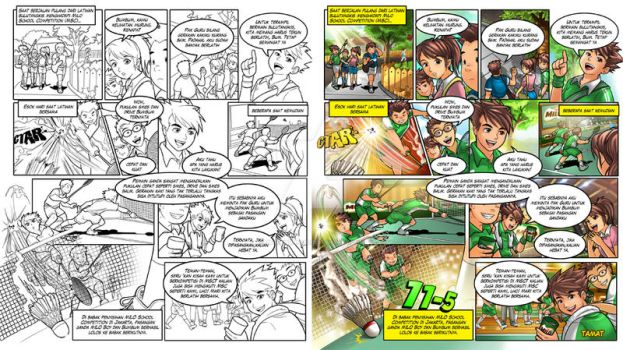 Milo Comic - The Winning Team by dr4g0nw1ngs