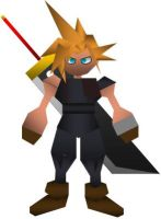 Cloud Strife- Ex-SOLDIER :CC: by ZFShadowSOLDIER