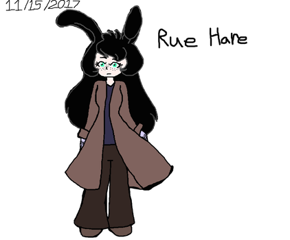 WFRR OC: Rue Hare The Toon by Elzathehedgehog