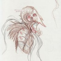 Blind Follies - Hades Concept Sketch by sketchykraft