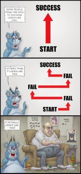 Path to Success by jflaxman
