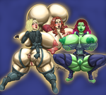 Infinity girls (extreme ver. on tumblr) by SpaceFur