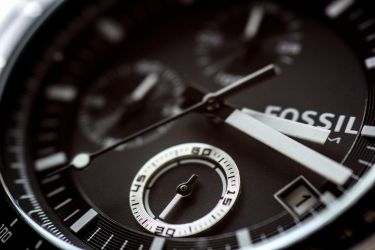 Fossil watch closeup by mistar