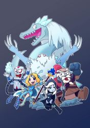 Team Ice!!! (Dota2) by phsueh