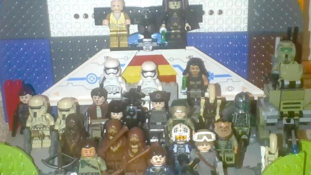Lego Star Wars characters by MegaCharizard231