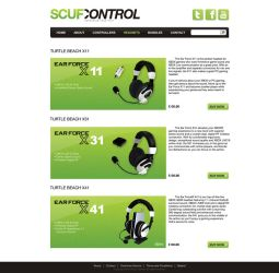 Scuf Control - Headset page by 7UR