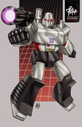9/34 Megatron by FranciscoETCHART