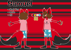 Samuel reference sheet - 2018 by VAST-WHlTE