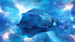 USS Allegiant | Azure Nebula by Auctor-Lucan