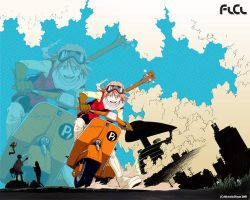 FLCL Wallpaper by hayes372