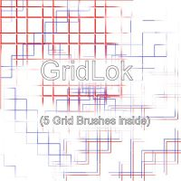 Gridlok Brushes - PSP8 by Protowing