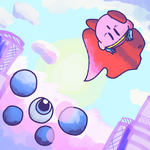 Kirby's Adventure- Kracko Jr. by 4zumarill