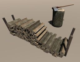 Firewood Ingame 1 by Drakes-Legacy
