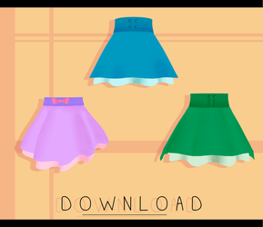 [MMD] Skirt Pack DOWNLOAD by kitten-S