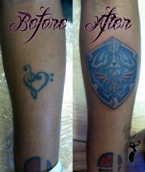 Zelda Cover-up by greyfoxdie85