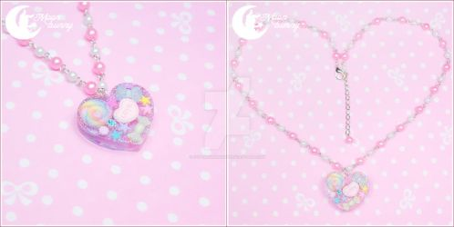Sweet time Necklace by CuteMoonbunny