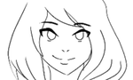 Ella's blinking animation gif by faflame101