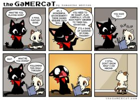 The GaMERCaT - Blasphemy by celesse