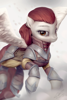 Pegasus Sanguine by AssasinMonkey