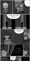 A Small Chat [Undertale Comic] - Pg 1 by RoseeQuartz