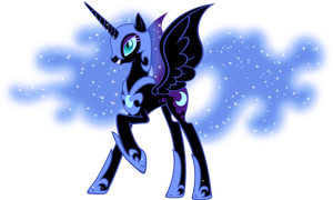Nightmare Moon by MoongazePonies