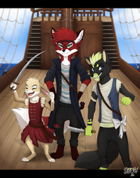 Pirates for days by FoxBeats