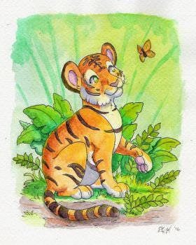 Tiny Tiger by The-Hare