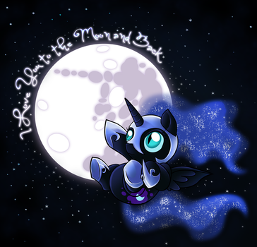 To the Moon and Back by JaDeDJynX