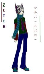 Zetch Vocaloid OC by Garr-Sama