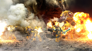 The Imperial Fists by ARKURION