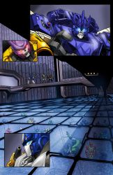 TF Cybertronians page 18 color by shatteredglasscomic