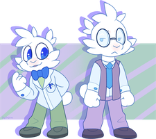 Bill And Zach by pupom