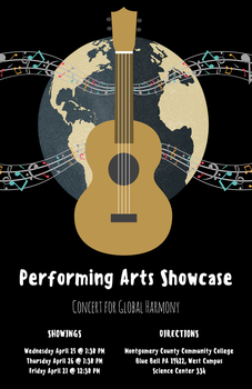 Poster: Performing Arts Showcase by requiesticat